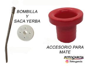 Bombilla y sacayerba
